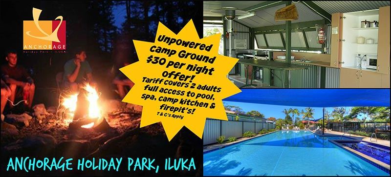 Anchorage Holiday Park Camp Ground special